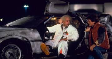 Trasforma la sua DeLorean come quella del film 'Ritorno al futuro'