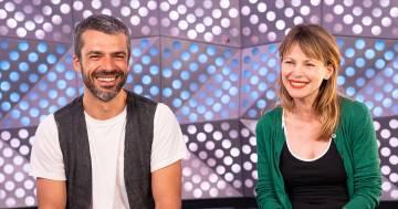 Luca Argentero e Barbora Bobulova, la videointervista per RDS