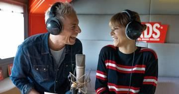 Alessandra Amoroso con Giovanni Vernia e Petra Loreggian: la prova della canzone disturbata