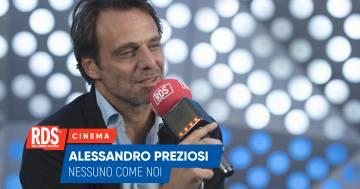 Alessandro Preziosi ospite di RDS risponde alle domande della nostra macchina della verità