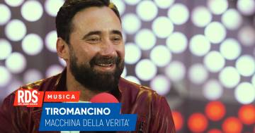 Federico Zampaglione dei Tiromancino ospite di RDS risponde alle domande della nostra macchina della verità