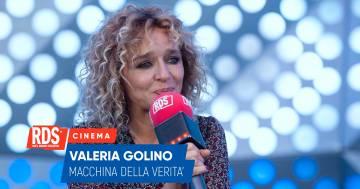 Valeria Golino a RDS risponde alle domande della nostra macchina della verità