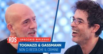 Alessandro Gassmann e Gianmarco Tognazzi a confronto nello Specchio Riflesso di RDS