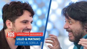 Frank Matano e Lillo Petrolo a confronto nello Specchio Riflesso di RDS