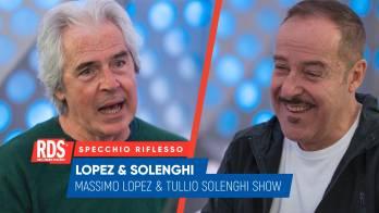 Tullio Solenghi e Massimo Lopez: lo Specchio Riflesso di RDS