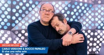 Carlo Verdone e Rocco Papaleo un confronto a suon di risate nello Specchio Riflesso RDS