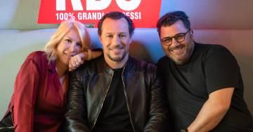 'Il campione': Stefano Accorsi ospite di RDS con Anna e Sergio