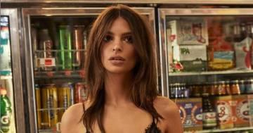 Emily Ratajkowski: la foto al supermercato fa impazzire i fan