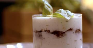 Crumble alla crema di ricotta con zafferano e con zenzero - Kitchen Duel - Alessandro Borghese Kitchen Sound