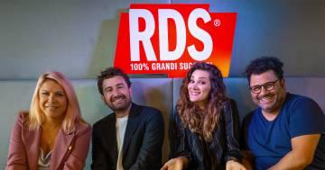 Anna e Sergio insieme ad Alessandro Siani e Stefania Spampinato in diretta