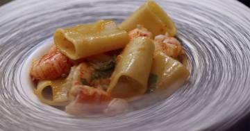Penne allo scarpariello con melanzane - Kitchen Duel - Alessandro Borghese Kitchen Sound