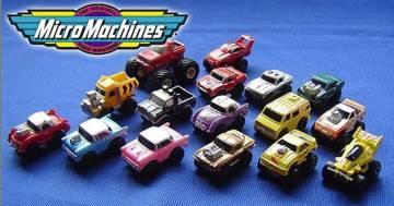 È ufficiale: tornano sul mercato le Micro Machines