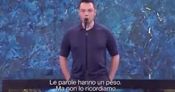 """Tiziano Ferro a 'Che Tempo Che Fa"""": il suo monologo contro il bullismo è emozionante"""