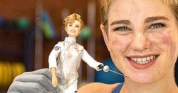 Bebe Vio, una Barbie celebra la campionessa paralimpica