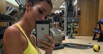 Elisabetta Gregoraci: il video dell'allenamento in palestra è bollente