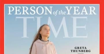 Greta Thunberg è stata eletta persona dell'anno dal Time
