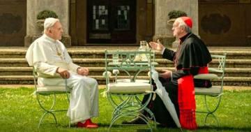E' in arrivo su Netflix 'I due Papi', con Anthony Hopkins e Jonathan Pryce