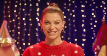 È di Alessandra Amoroso il 'Christmas Jumper' con Save the Children