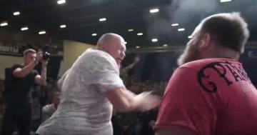 Vyacheslav Zezulya è il nuovo campione del mondo di schiaffi: ecco il video del suo ultimo incontro