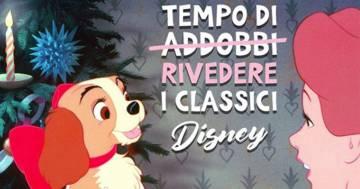 Natale 2019: la programmazione dei film Disney in TV