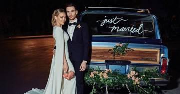 Hilary Duff si è sposata con Matthew Koma... nel giardino di casa