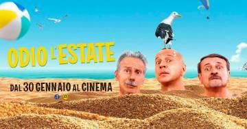 'Odio l'estate': ecco il trailer del nuovo film di Aldo, Giovanni, Giacomo