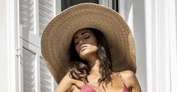 Federica Nargi prende il sole in bikini: fan in delirio