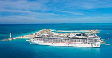 MSC Crociere ha trasformato un'isola abbandonata in un paradiso delle Bahamas: è Ocean Cay MSC Marine Reserve