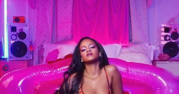 Rihanna lascia tutti senza parole: le foto per San Valentino sono bollenti