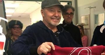 'Star Therapy': Vasco Rossi non manca l'appuntamento con i pazienti del Rizzoli di Bologna
