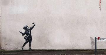 Cupido esplode: la nuova provocazione di Banksy per San Valentino