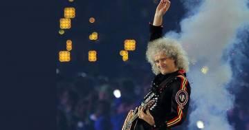 Queen: Brian May è stato eletto il più grande chitarrista rock di sempre