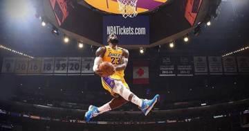 Lebron James esegue la stessa schiacciata di Kobe Bryant: un video incredibile