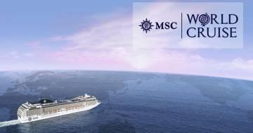 Il viaggio intorno al mondo su una nave da crociera da sogno: ecco come funziona MSC World Cruise