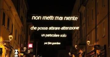 Vasco Rossi: nella sua Zocca si accendono le luminarie di Albachiara