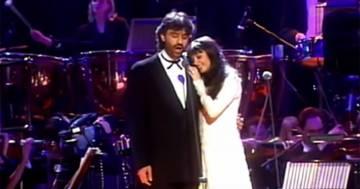 'Con te partirò': il grande successo planetario di Andrea Bocelli festeggia 25 anni