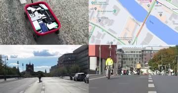 Inganna Google Maps con 99 cellulari: l'idea geniale di un artista tedesco