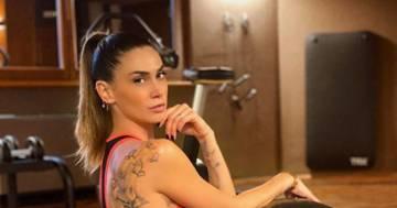 Melissa Satta: la pausa pilates conquista i follower