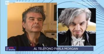 Morgan contro il manager di Bugo: volano gli stracci in diretta TV