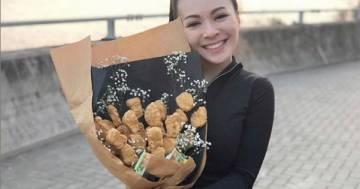 San Valentino 2020: al posto del fiori regalate un nuggets bouquet