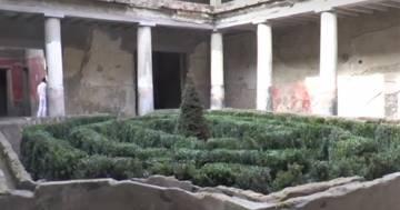 Pompei: riaperte tre Domus, tra cui la Casa degli Amanti