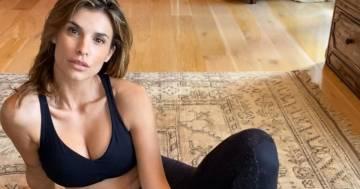 Elisabetta Canalis su Instagram: ecco il suo allenamento da fare due volte a settimana