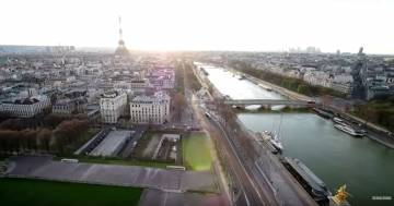 Da Parigi a Los Angeles: i video delle città deserte riprese dai droni