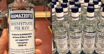 Igienizzante al posto dell'Amaro Ramazzotti, così l'azienda converte la produzione