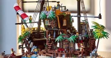 LEGO rilancia la Black Seas Barracuda, la nave dei pirati!