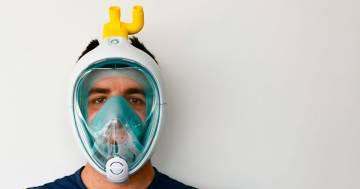 Due ingegneri bresciani hanno trasformato una maschera da sub in un respiratore d'emergenza