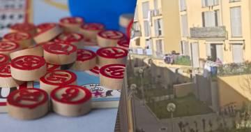 La maxi tombolata a Livorno: si gioca tra i balconi del quartiere