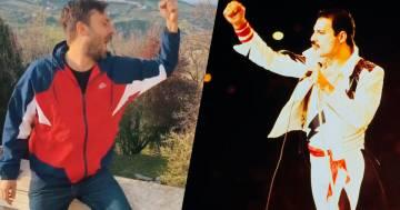 Cesare Cremonini: il suo omaggio a Freddie Mercury vi metterà di buon umore