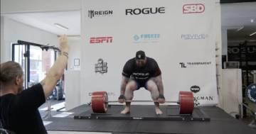 La Montagna di 'Game Of Thrones' solleva 501 kg e si aggiudica il record del mondo