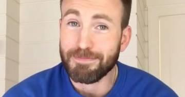 Chris Evans, il Captain America, sbarca su Instagram